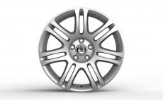 Accessories to product Легкосплавный диск Octavia A7 / Superb II R18 THEMISTO silver