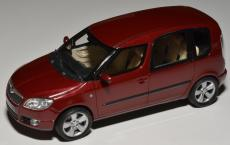 Accessories to product Модель SKODA Roomster 1:43 Flamenco Red