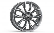 "Accessories to product Легкосплавный диск Kodiaq ""CRATER"" Anthracite 7J x 19"" ET43"
