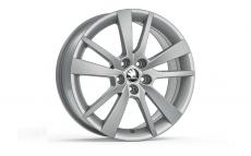 "Accessories to product Легкосплавный диск Fab III / Rapid ""TRIUS"" Silver 7.0J x 17"" ET46"