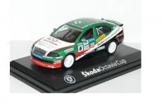 Accessories to product Модель SKODA Octavia A5 WRC 1:43