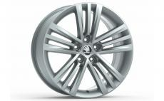 Accessories to product Легкосплавный диск Octavia A7 / Superb II R18 TRINITY silver