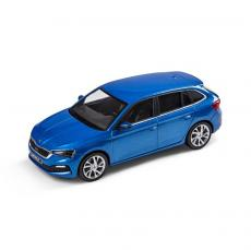 Accessories to product Модель SKODA Scala 1:43 Race Blue